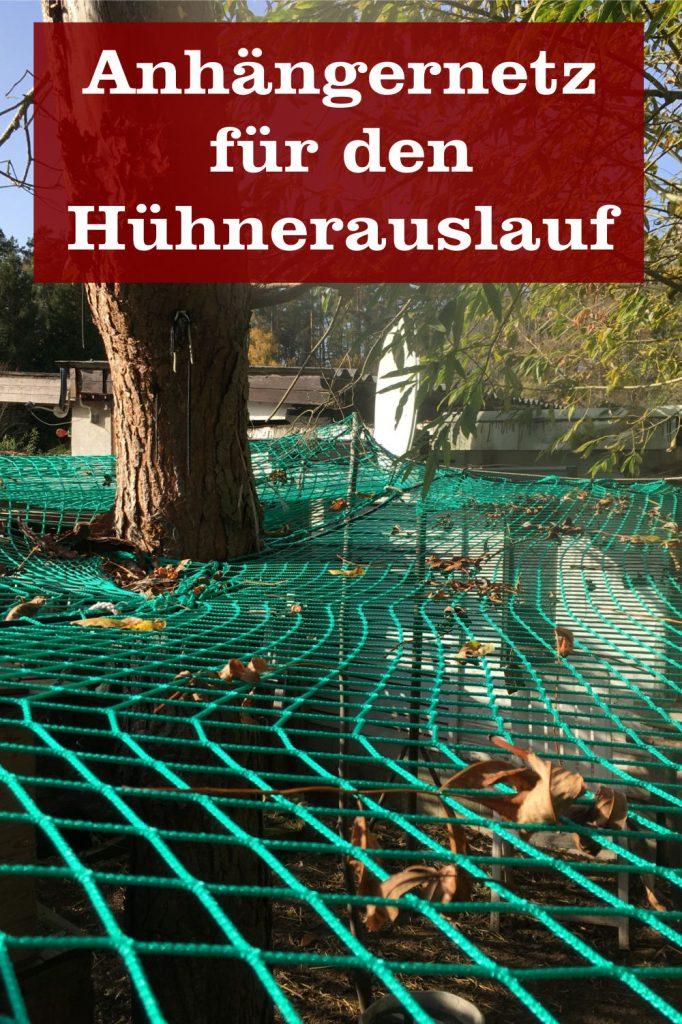 Netz für Hühnerauslauf